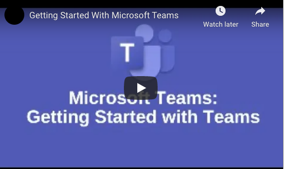 Getting Started With Microsoft Teams