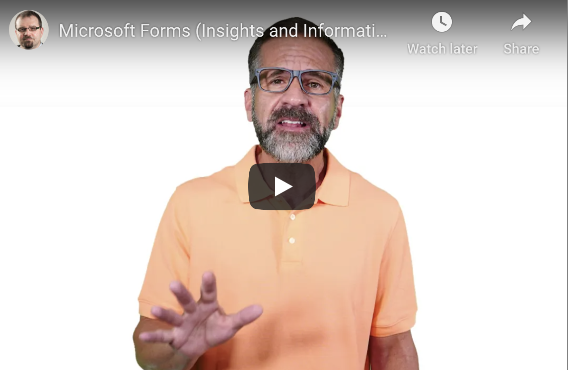 What's New With Microsoft Forms
